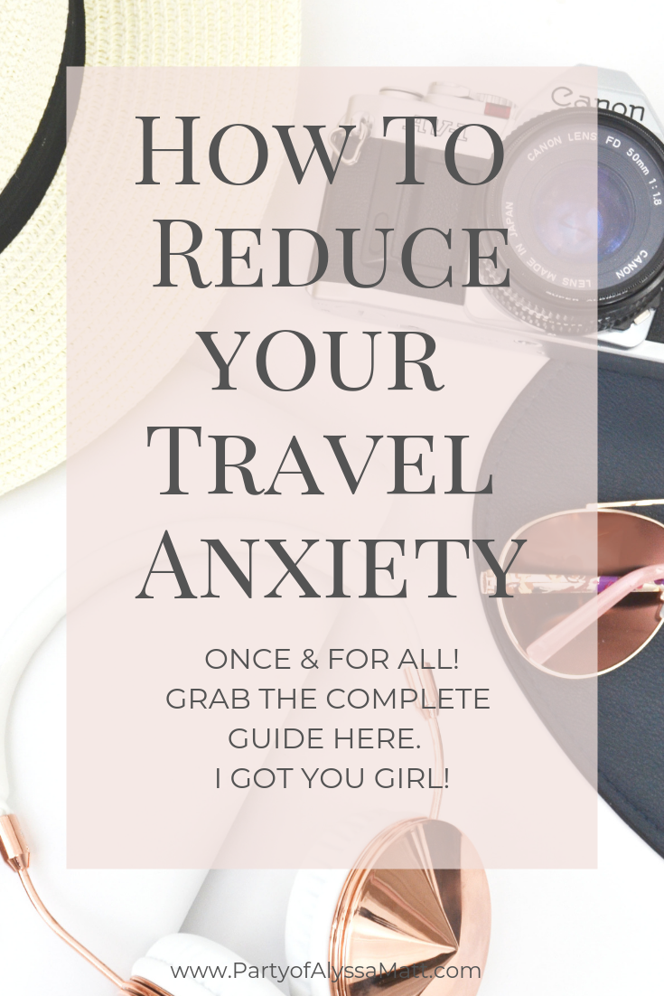 reducing travel anxiety