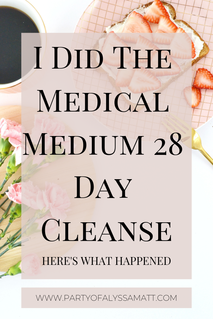 medical medium 28 day cleanse