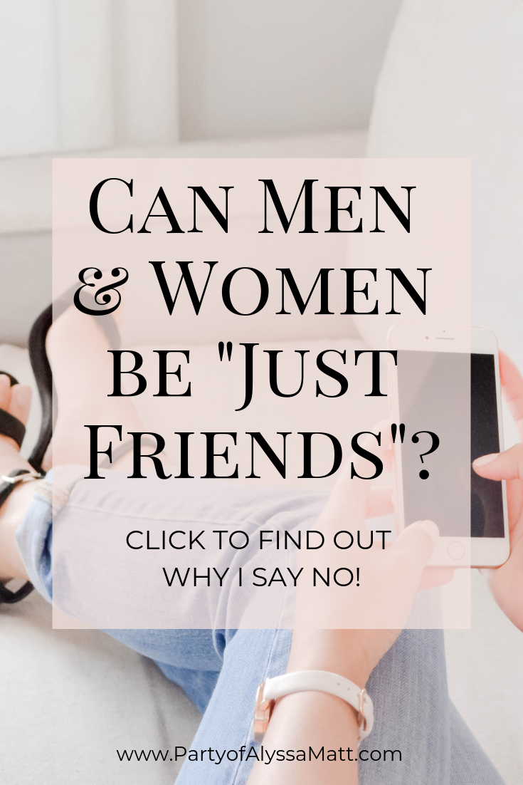 Can Men & Women Be Just Friends