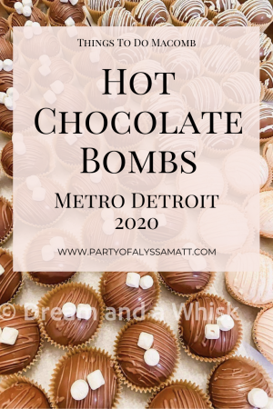 Where To Buy Hot Chocolate Bombs in Metro Detroit pin