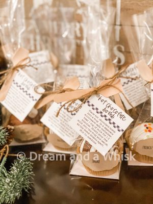 dream and a whisk hot chocolae bombs