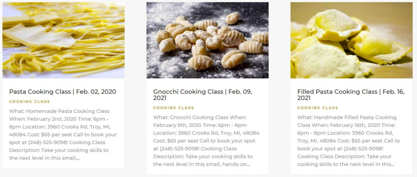 cucina lab torino cooking classes
