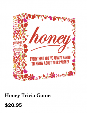 honey trivia game valentine's