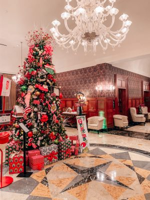 royal park lobby christmas